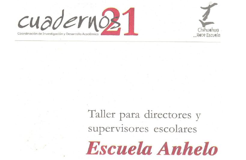 Escuela Anhelo 2a. parte