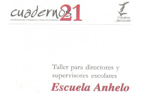 Escuela Anhelo 1a. parte